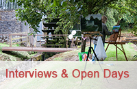 Interview and Artist Open Day at Martry Mill