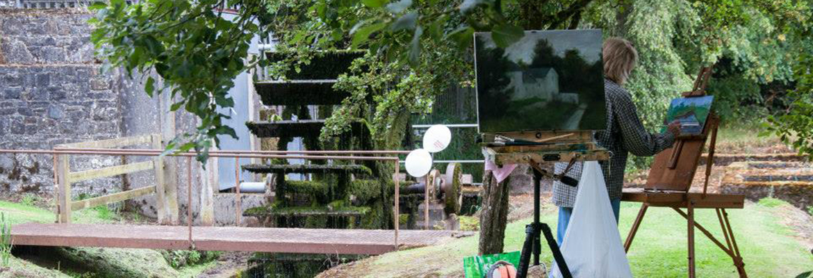 Artist Open Day at Martry Mill